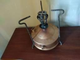 Fogareiro a Querosene em Bronze fabricado pela Antiga Gasol do Rio Grande do Sul
