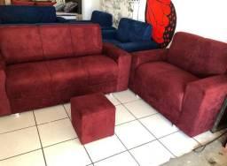 Pronta entrega grátis hoje aproveite sofa zerado