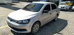 VW Voyage G6 1.6 MI City 8V 14-15 Prata