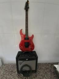 Combo Guitarra Peavey + Cubo Fender