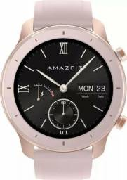 Relógio Xiaomi Amazfit Gtr Rosa 42mm Lacrado