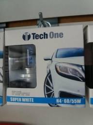 Título do anúncio: Lâmpada super branca h4 nova