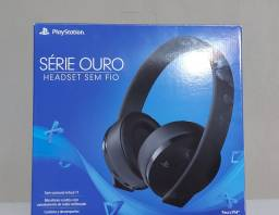 Headset Sony New Gold com garantia