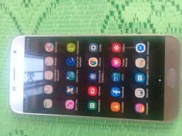 Celular J7 pró imperfeito istado acompanha carregador fone de nota fiscal