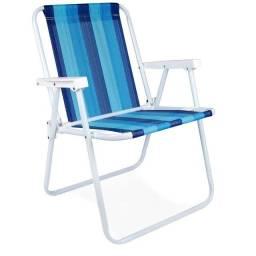 Cadeira Aço Alta Verde MOR