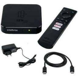 Smart Tv Box Intelbras Izy Play Full Hd 8gb Memória Ram 1gb