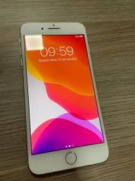 I phone 7 plus - 128 gb - prata