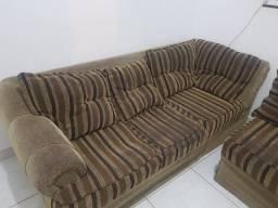 Vendo sofá de canto usado $400,00