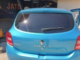 Sandero 2016 1.0 quitado financio