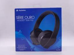 Headset Sem Fio Serie Ouro Play Station 4 Original Novo Lacrado