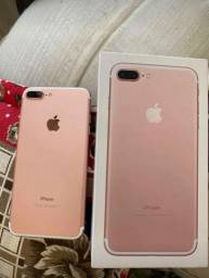 IPhone 7 Plus rose semi novo