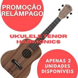 Ukulele  Barato - tenor harmonics - acústico