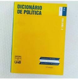Dicionário de politica