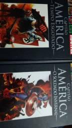 HQ Capitão América - Tempo Esgotado e Soldado Invernal. 2 volumes