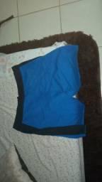 Bermudas moletom + casaco lascoste + Pro81L