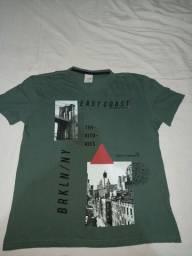 Combo camisetas: 5 por $80 ou 3 por $40