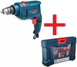 Furadeira Bosch de impacto + kit acessórios