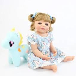Boneca reborn loira