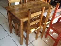 Mesas de madeira,cadeiras direto de fábrica para pizzaria,churrascaria,residencia e outros