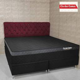 Cama box King molas ensacadas