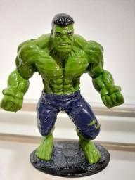 Action Figure- Estátua decorativa em resina- Hulk 16cm