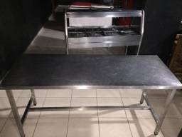 Mesa Inox Industrial R$400,00