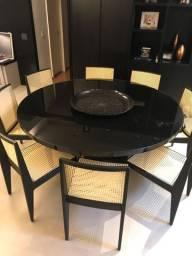 Mesa de jantar Diâmetro 1,80m (sem cadeiras)