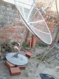 Atencao faco apontamentos de antenas ku e c