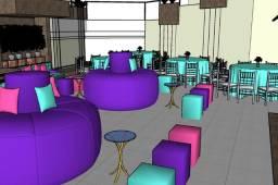 Projetos de Interiores e Modelagem 3D