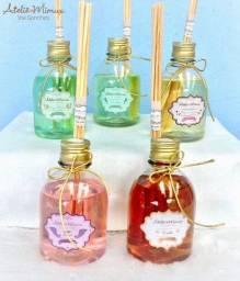 Difusores para ambiente e água perfumada