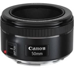 Lente Canon Ef 50mm F/ 1.8 Stm Ótimo Estado com NF e garantia