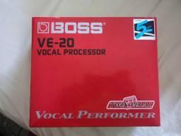 Pedal de voz BOSS ve-20 com fonte (NOVO) Nunca usado