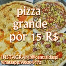 Pizza grande 15R$ cavaleiro delivery