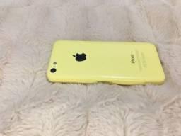 IPhone 5c amarelo, 8GB
