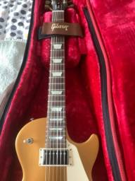 Guitarra Gibson les paul Gold top tribute made in Usa