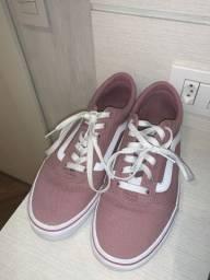 Tênis Vans old school rosa