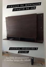 Microondas montagem de móveis com melhor preço de Goiânia
