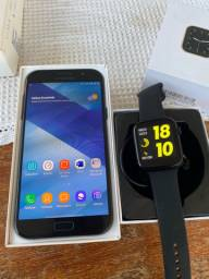 Samsung galaxy A7 2017 + Smartwatch 5