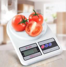 Balança digital 10kg para cozinha, ac. cartões e entregamos