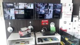 Kit com 2 Cameras Instaladas a Vista CFTV + instalaçao inclusa ou 3,4 ,6 8 ou mais Cameras