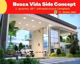 Oportunidade: Busca Vida Side Concept, 2 quartos, 69 m², com infraestrutura completa