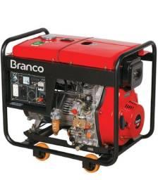 Gerador à Diesel 6,5Kva Partida Elétrica BD-8000 EF - BRANCO<br><br>