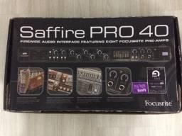 Interface focusrite saffire pro 40