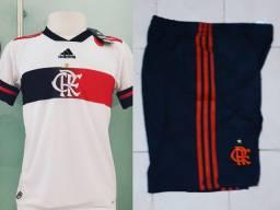 Conjunto do Flamengo 2o Uniforme 2020