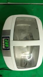 Lavadora ultrasonica com aquecimento