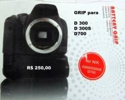 Grip para Câmeras Nikon e Canon