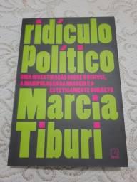 Livro Ridículo Político Márcia Tiburi