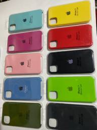 Capinhas de iPhone 11 interior aveludado originais!!!
