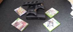 Xbox 360 Slim Travado Completo