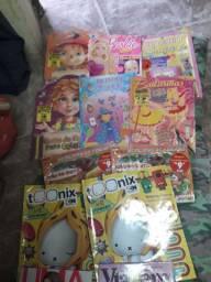 Vendo lotes de revistas .novas .Entrega grátis.